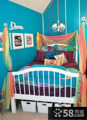 儿童房室内装潢效果图欣赏