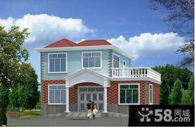 农村二层别墅设计效果图