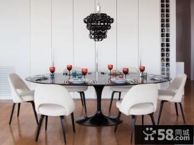 现代简约风格餐厅家庭装修设计图