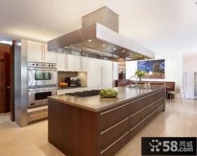 开放式大厨房设计效果图