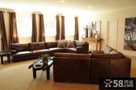 2012简单客厅装修效果图