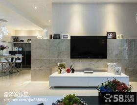 2013优质瓷砖电视背景墙图片