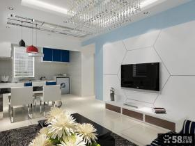 瓷砖电视背景墙效果图