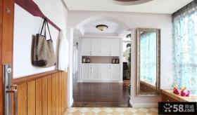 室内玄关装饰效果图