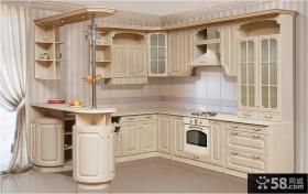 欧式风格开放式厨房设计