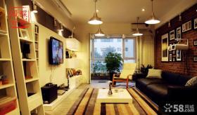 美式风格小客厅装修效果图片2014