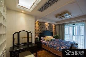 美式风格设计卧室装修效果图片