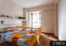 现代风格设计儿童房室内装修效果图片
