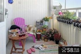 小户型家装小阳台设计图片欣赏