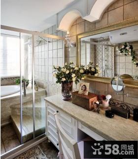 3.5万轻松打造45㎡田园风格小客厅装修效果图