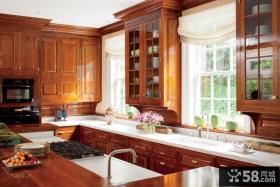经典的美式田园风格整体橱柜装修效果图大全2012图片