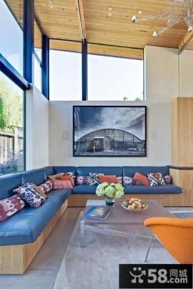 农村小别墅装修效果图 客厅装修效果图大全2012图片