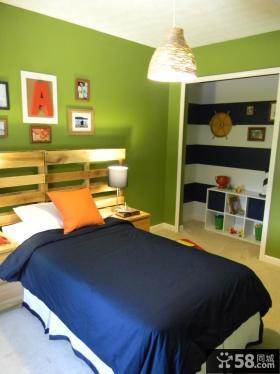 现代简约儿童房间卧室装修效果图