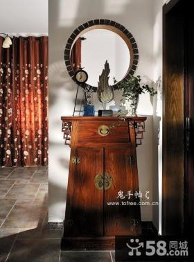 中式客厅修效果图大全2012图片