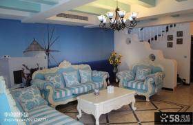 复式家装设计客厅效果图