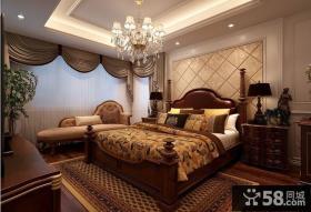 简欧式卧室风格装修效果图大全