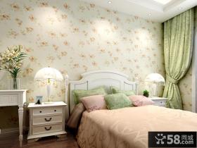 卧室玉兰墙壁纸图片
