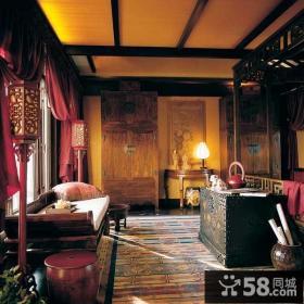古典中式风格书房装修效果图欣赏