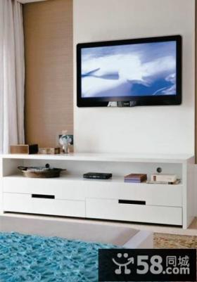 极简装饰客厅电视背景墙