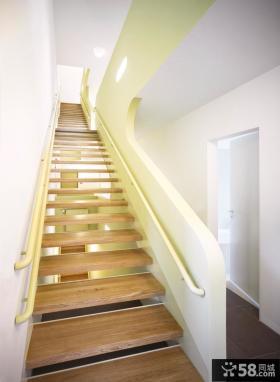简约别墅楼梯设计效果图片
