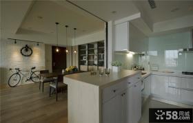 现代简约风格三居室室内家装图片